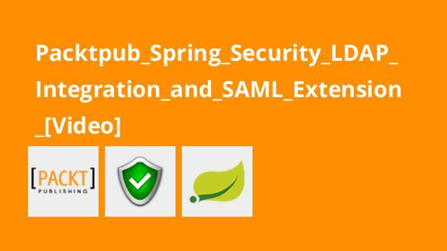 آموزش گسترشSAML و ادغامLDAP با فریمورکSpring Security